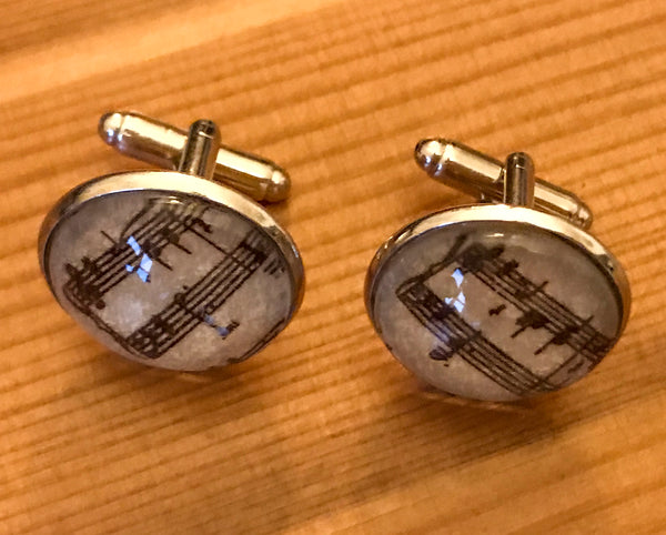 Cufflinks, featuring keyboard music