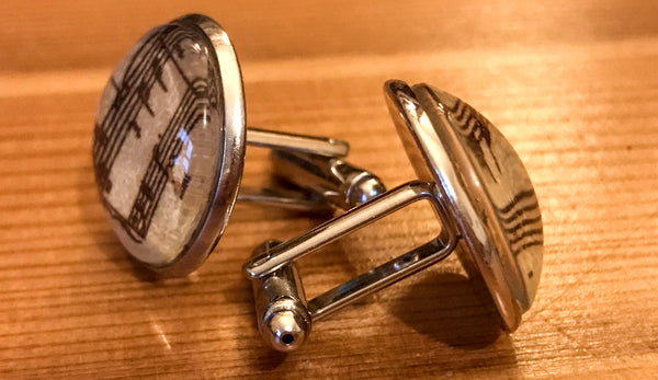 Cufflinks, featuring keyboard music - TheReedLounge.com