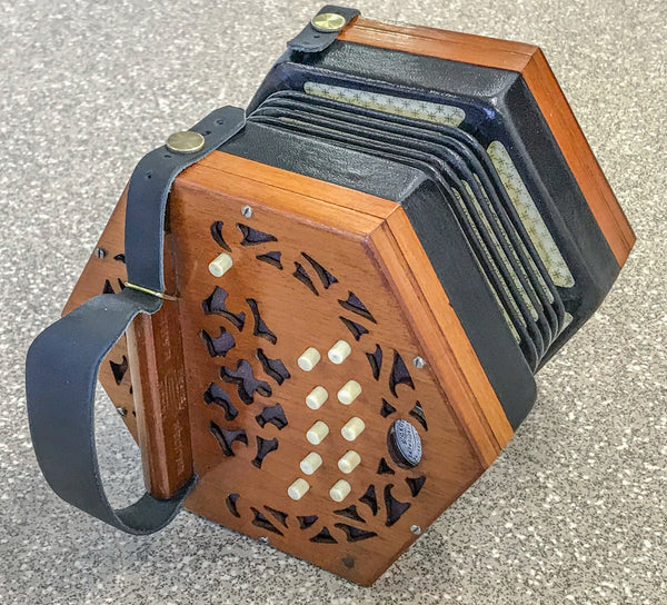Lachenal 20 key Anglo Concertina C/G Brass Reeds