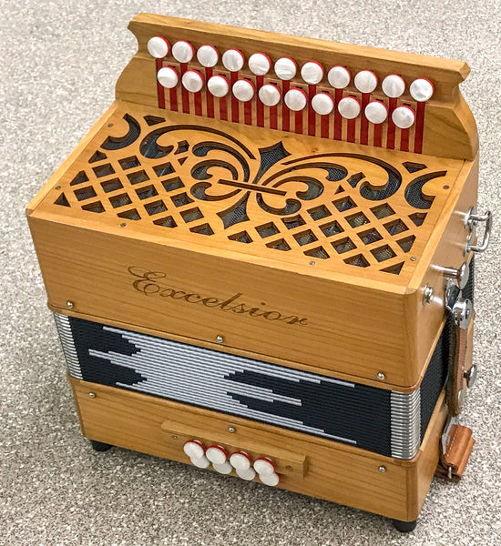 Excelsior Chiltern D/G 3 voice Melodeon