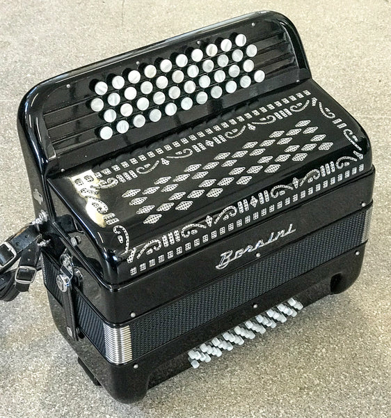 Borsini C system freebass accordion - TheReedLounge.com
