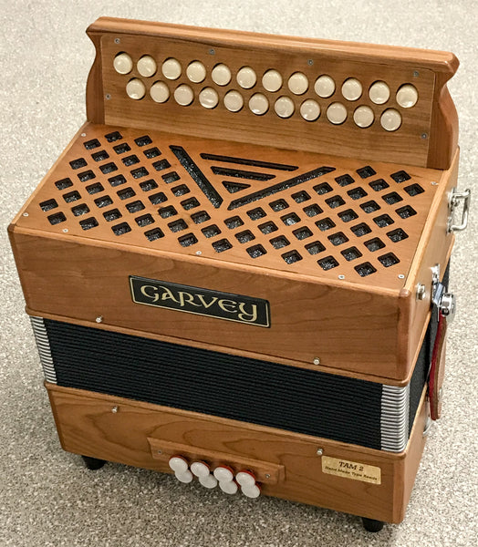 Garvey TAM2 Button Accordion in C#/D - TheReedLounge.com