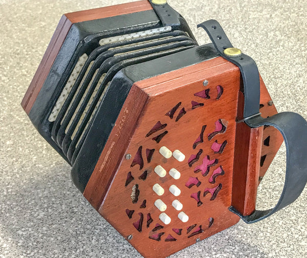 Lachenal 20 key Anglo Concertina C/G - TheReedLounge.com
