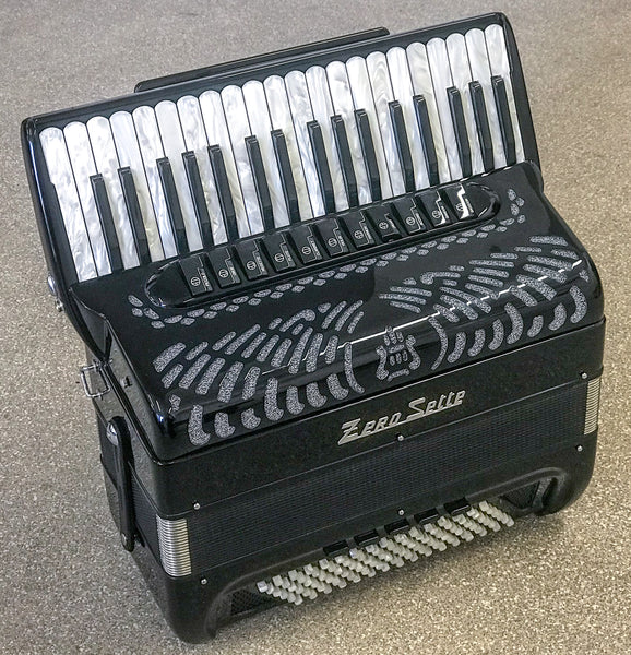 Zero Sette Cassottino Super Leggera 96 bass Piano Accordion - TheReedLounge.com