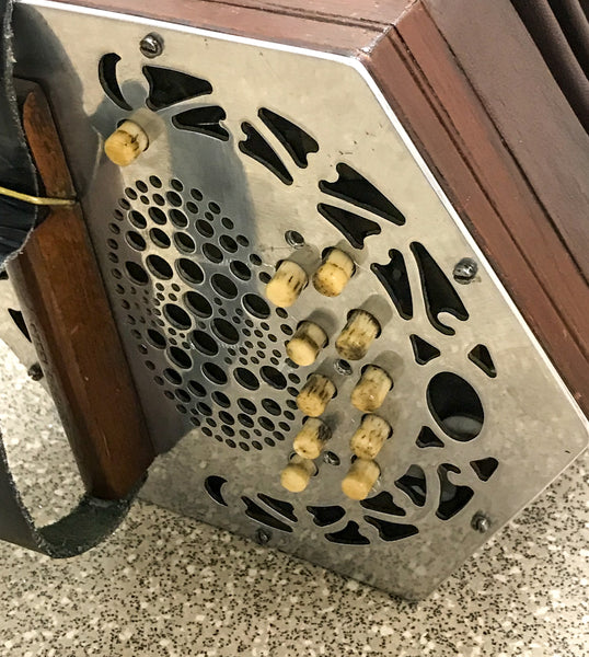 Lachenal 20 key anglo concertina - TheReedLounge.com