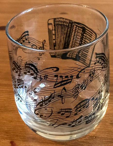 Drinking Glass featuring an Accordion - TheReedLounge.com