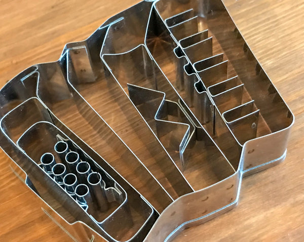 Accordion shaped biscuit/cookie cutter - TheReedLounge.com