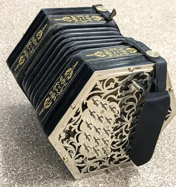 Jeffries C/G 30 key Anglo Concertina - TheReedLounge.com