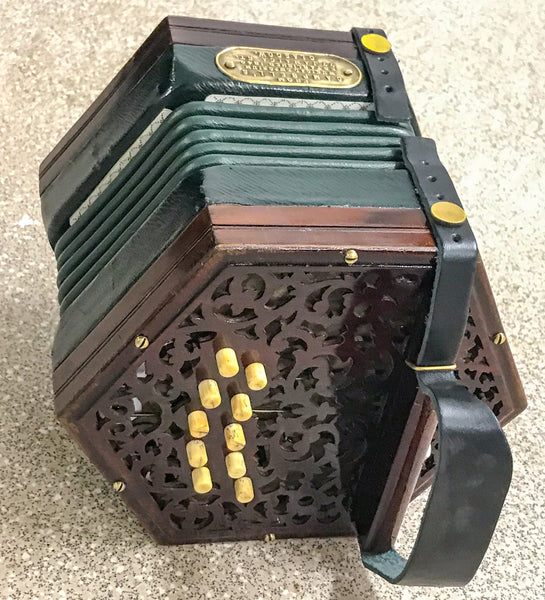 Lachenal 20 key C/G Anglo Concertina - TheReedLounge.com