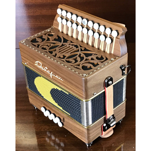 Castagnari Lilly 1 Voice Melodeon/Diatonic Accordion - TheReedLounge.com