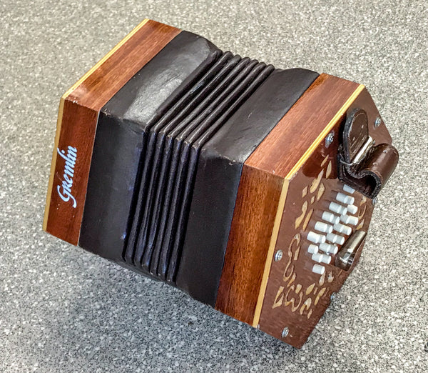 Stagi 48 key English Concertina, Badged 'Gremlin' - TheReedLounge.com
