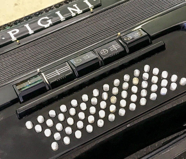 Pigini C system Convertor Bass Button Accordion- Second Hand - TheReedLounge.com
