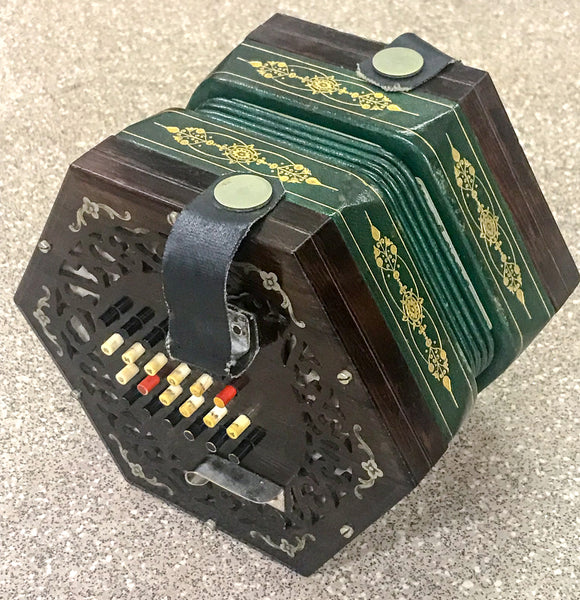 Wheatstone 48 Key English Concertina Tutor Model - TheReedLounge.com