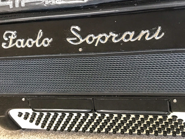 Paolo Soprani 4 voice 120 bass piano accordion - TheReedLounge.com