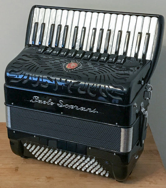 Paolo Soprani Double Cassotto 34 key Piano Accordion - TheReedLounge.com