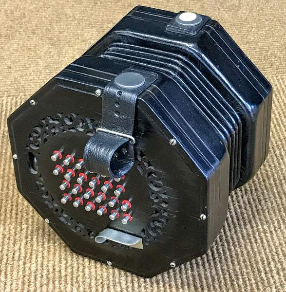 Wheatstone Aeola English 48 key Concertina - TheReedLounge.com