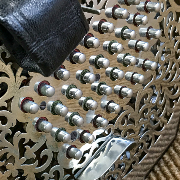 Wheatstone 64 key tenor treble Aeola English Concertina - TheReedLounge.com