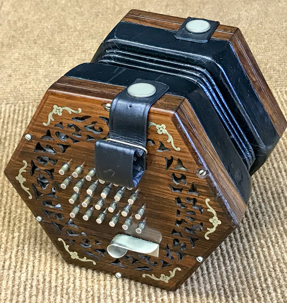 Wheatstone Inimitable English Concertina - TheReedLounge.com