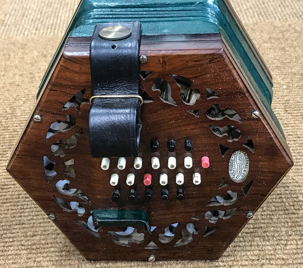 Lachenal 48 key English Concertina, Brass reeds - TheReedLounge.com