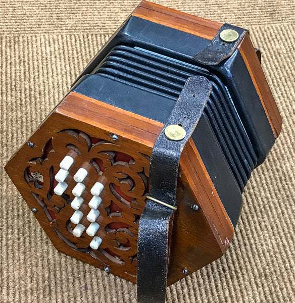 Jones 26 key Anglo Concertina in B/F# - TheReedLounge.com