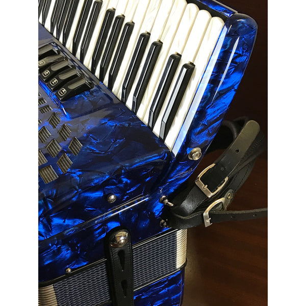 Bugari Juniorfisa 72 bass piano accordion 115J - TheReedLounge.com