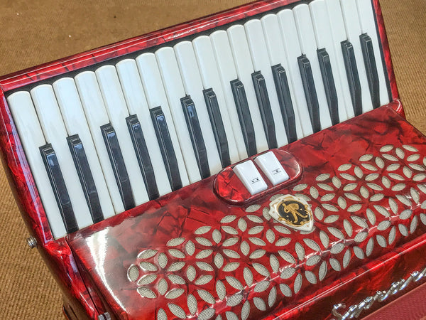 Paolo Soprani Junior II 72 bass Piano Accordion - TheReedLounge.com