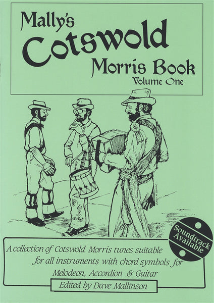 Mally's Cotswold Morris Book Vol. 1 CD: Dave Mallinson - TheReedLounge.com