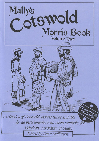 Mally's Cotswold Morris Book Vol. 2 CD: Dave Mallinson - TheReedLounge.com