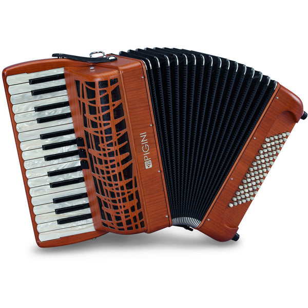 Pigini P30 Cherrywood piano accordion - TheReedLounge.com