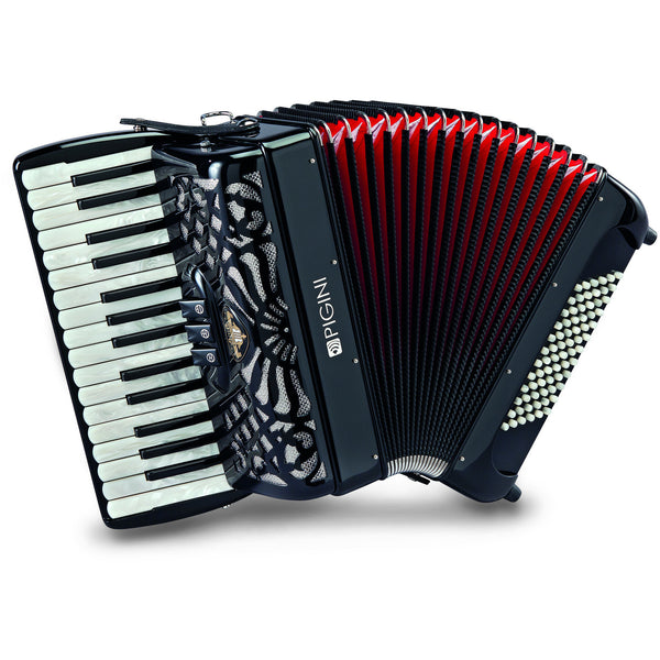 Pigini Deluxe Preludio P30 Piano Accordion - TheReedLounge.com