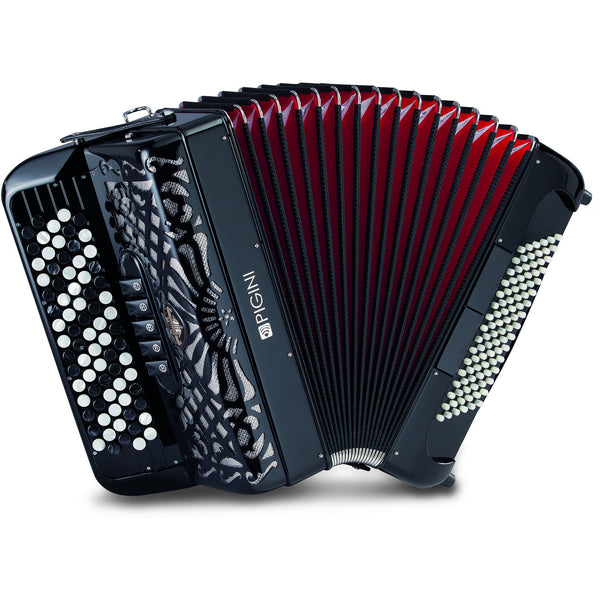 Pigini C175 3 voice Chromatic Button Accordion - TheReedLounge.com