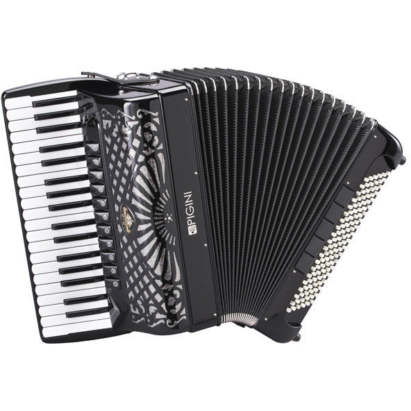 Pigini Professional P37 Cassotto Piano Accordion - TheReedLounge.com