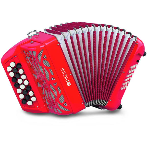 Pigini Simba Chromatic Button Accordion - TheReedLounge.com