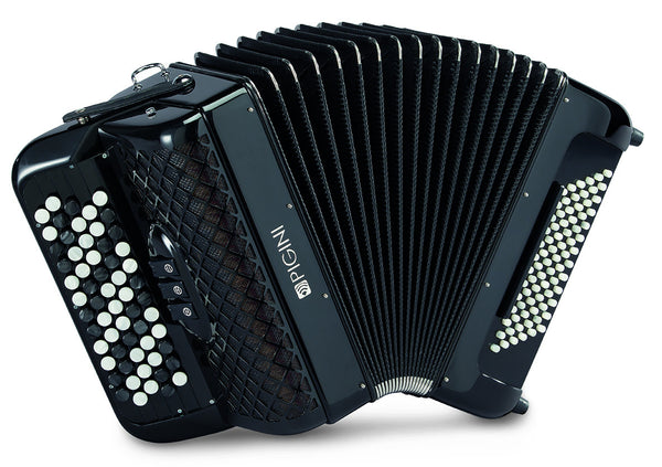 Pigini Convertor Studio B2 freebass button accordion - TheReedLounge.com