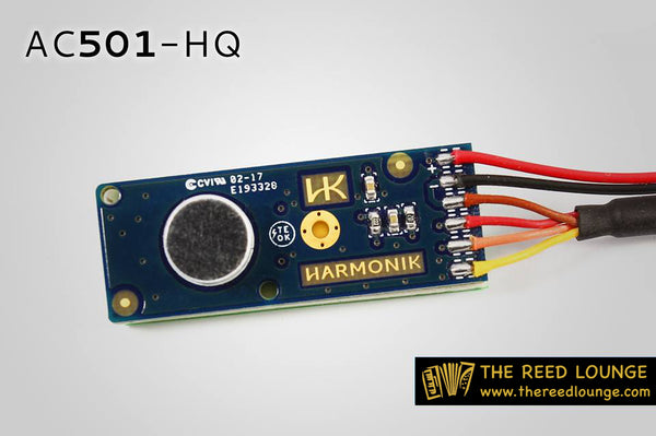 Harmonik AC501-HQ Instrument Microphone - TheReedLounge.com