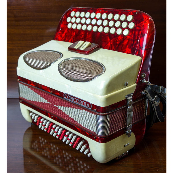 Concordia B/C/C# British Chromatic Accordion - TheReedLounge.com