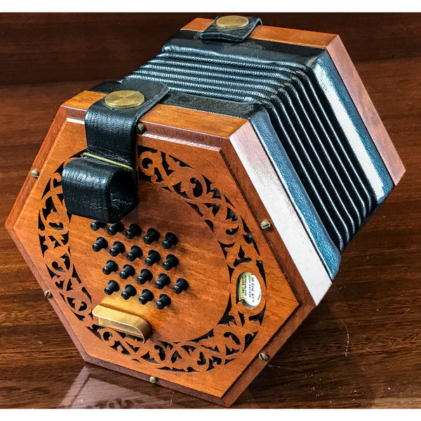 Morse Albion Baritone English Concertina - TheReedLounge.com