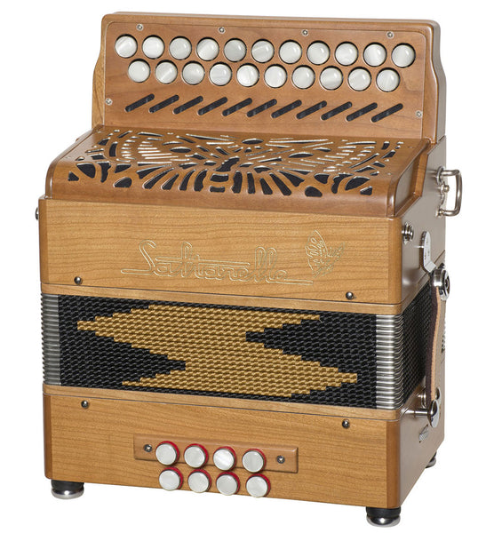 Saltarelle Aether 2 Button Accordion - TheReedLounge.com
