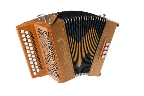 Saltarelle Awen 3 voice Button Accordion