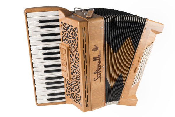Saltarelle Cleggan 72 bass 3 voice Piano Accordion - TheReedLounge.com