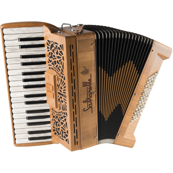 Saltarelle Clifden 60 bass 2 voice Piano Accordion - TheReedLounge.com