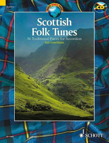 Scottish Folk Tunes - 54 Traditional Pieces for Accordion - TheReedLounge.com