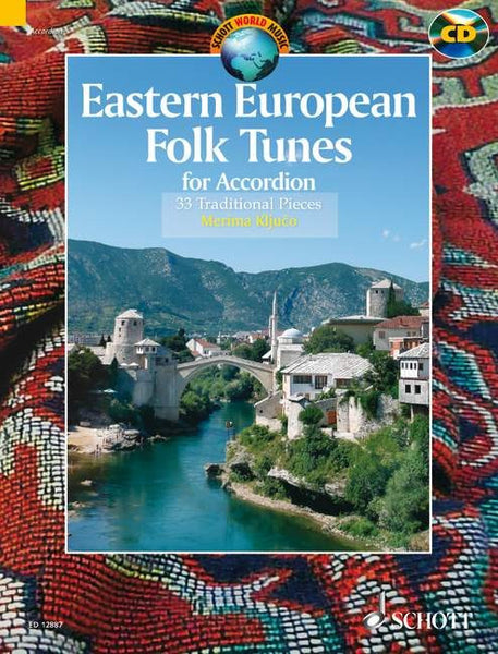 Eastern European Folk Tunes- 33 Traditional Pieces for Accordion - TheReedLounge.com