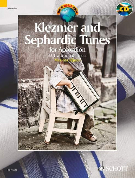 Klezmer and Sephardic Tunes- 33 Traditional Pieces for Accordion - TheReedLounge.com