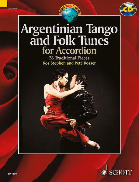 Argentinian Tango and Folk Tunes for Accordion- 36 Traditional Pieces - TheReedLounge.com