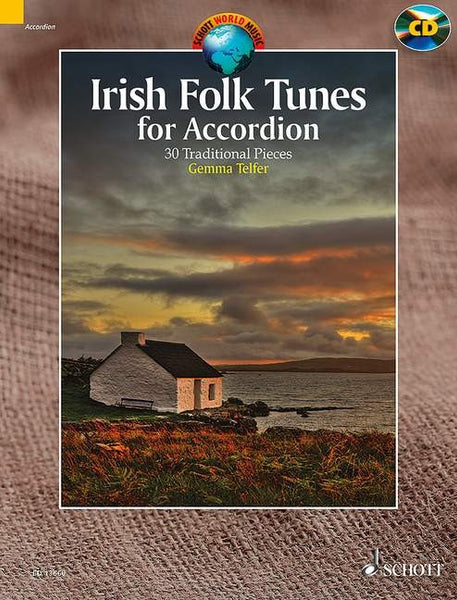 Irish Folk Accordion- 30 Traditional Pieces