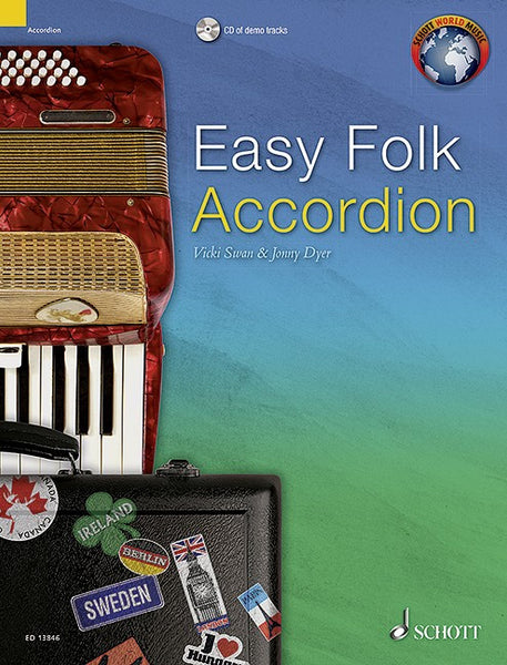 Easy Folk Accordion- 29 Traditional Pieces - TheReedLounge.com
