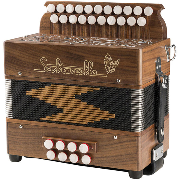 Saltarelle Epsilon 1 voice Melodeon/Diatonic Accordion - TheReedLounge.com