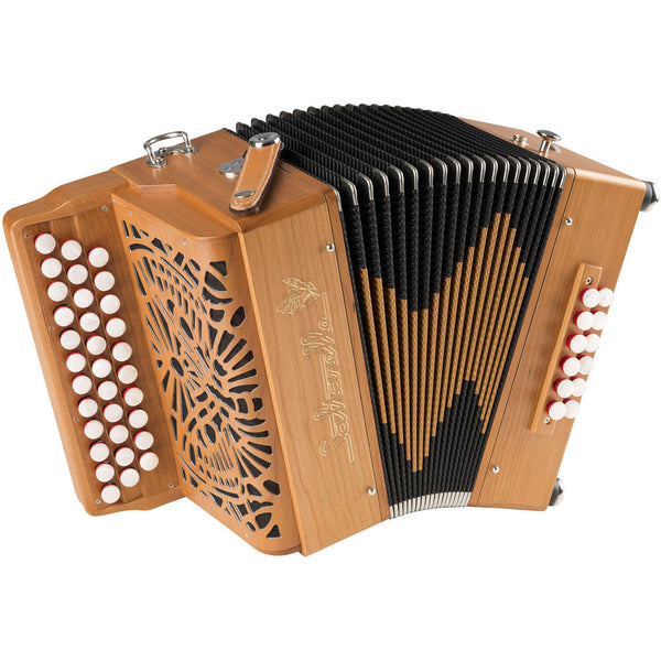 Saltarelle Etincelle 3-row melodeon/diatonic accordion - TheReedLounge.com