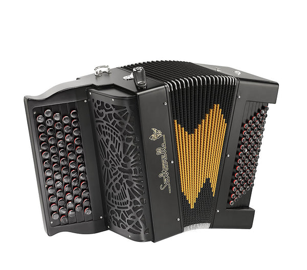 Saltarelle Bourroche 3 voice Chromatic Accordion
